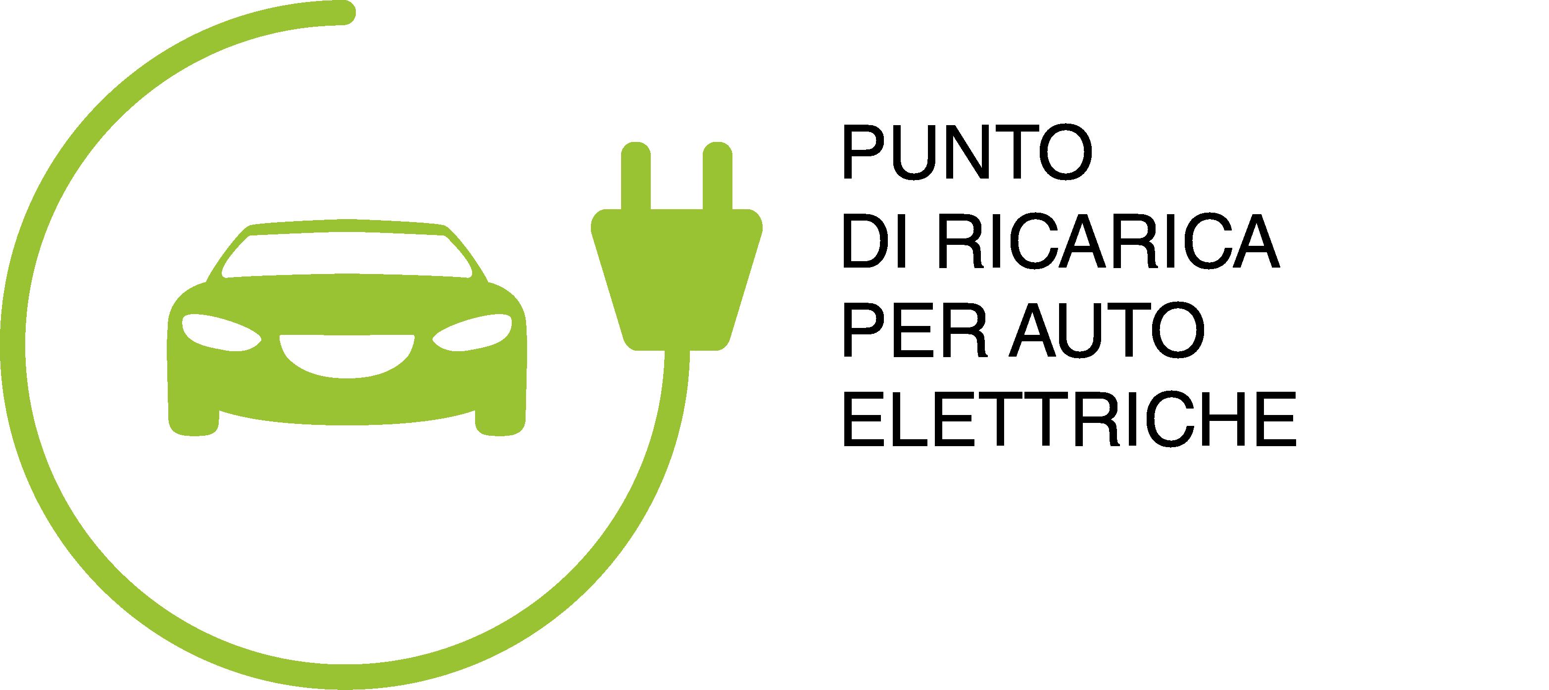Logo ricarica auto elettriche